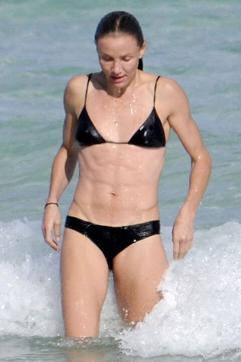Cameron Diaz low body fat