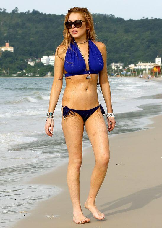 Lindsay Lohan Body Measurements