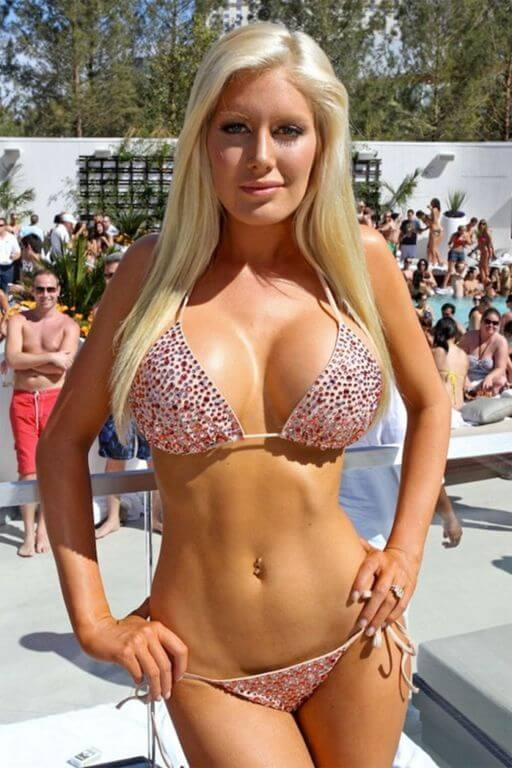 Heidi Montag body measurements