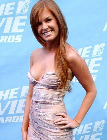 Isla Fisher Body Measurements