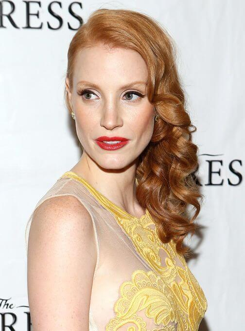Jessica Chastain, Height, Weight, Bra Size, Age, Measurements
