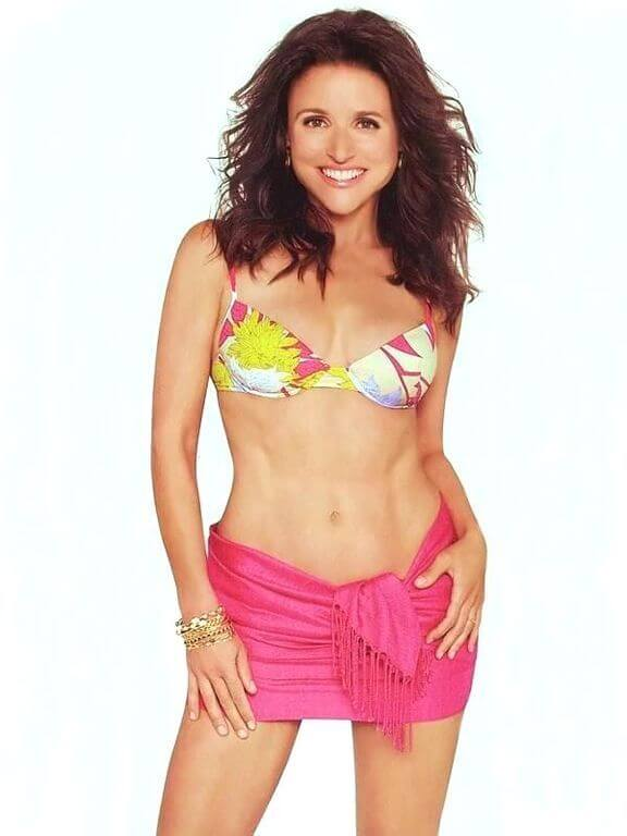Julia Louis-Dreyfus, Height, Weight, Bra Size, Age, Measurements