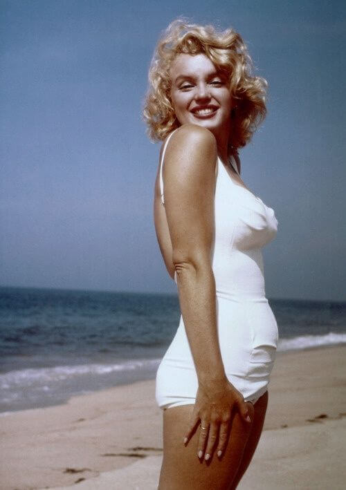 Marilyn Monroe Height Weight Body Measurements - Hollywood ...
