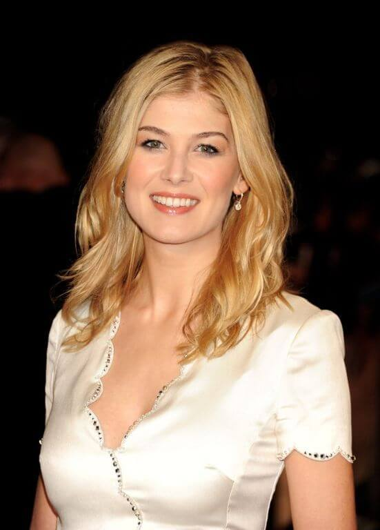 Rosamund Pike, Height, Weight, Bra Size, Age, Measurements
