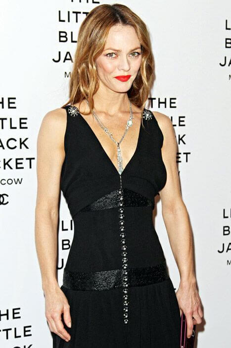 Vanessa Paradis Body Measurement