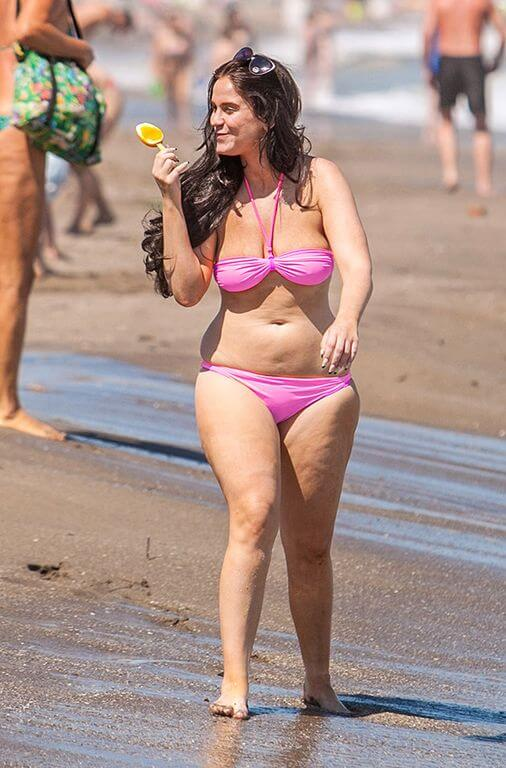 Vicky Pattison weight gain