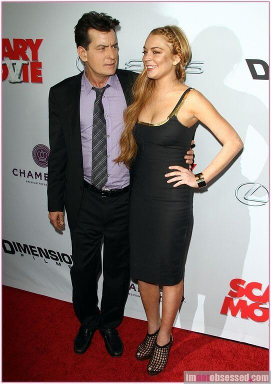 Charlie sheen height and weight