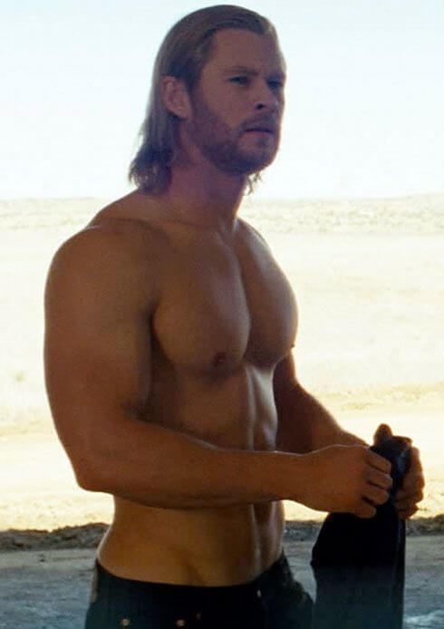 Chris Hemsworth, Height, Weight, Body Fat Percentage