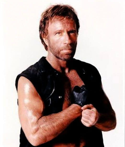 Chuck Norris, Height, Weight, Body Fat Percentage