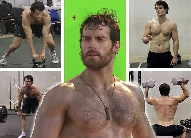Henry Cavill weight gain and weight loss