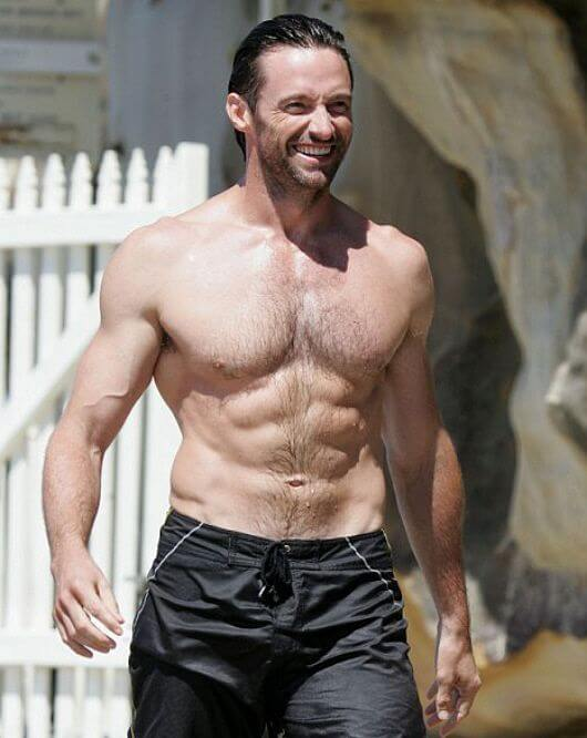 Hugh Jackman Height and weight