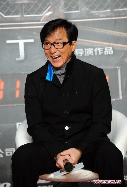 Jackie Chan weight
