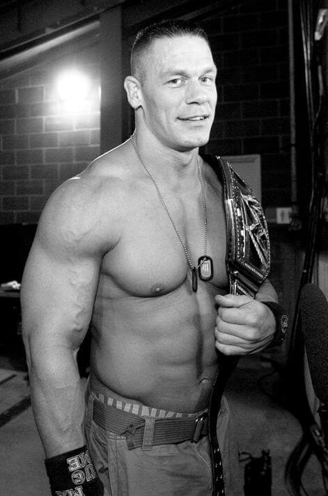 John Cena Height and Weight
