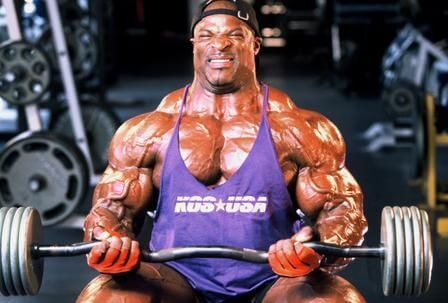 Ronnie Coleman on a cut