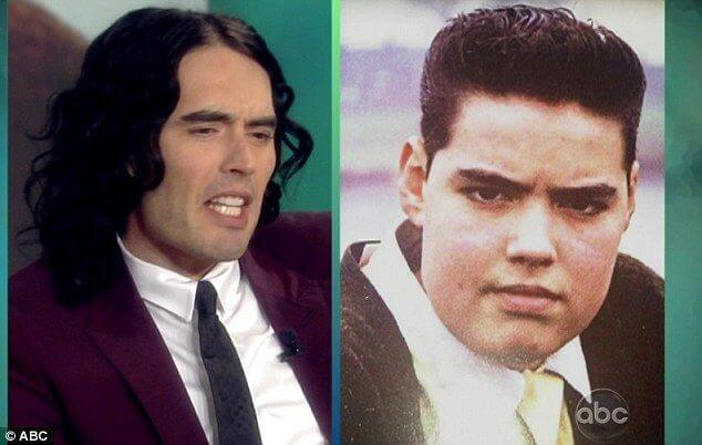 Russell Brand before and after weight loss