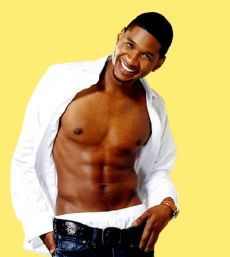 Usher heigth and weight