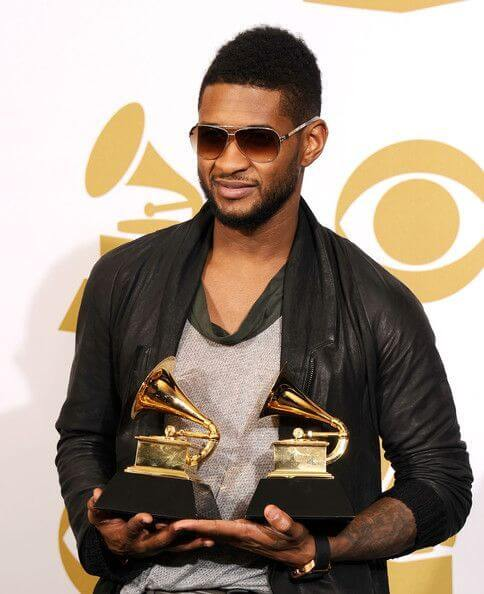 Usher, Height, Weight, Body Fat Percentage