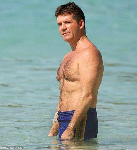 Simon Cowell Height and Weight