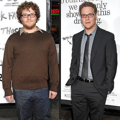 Seth Rogen, Height, Weight, Body Fat Percentage
