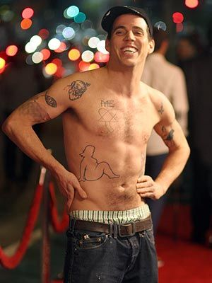 Steve-O, Height, Weight