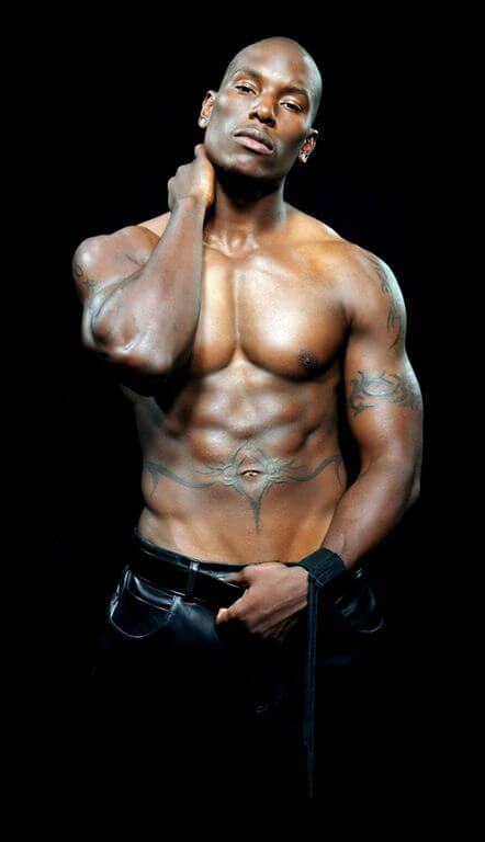 Tyrese Body height and weight