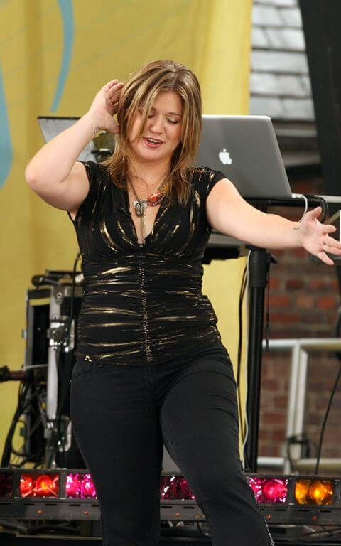 Kelly Clarkson Measurementss