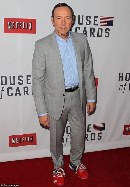 Kevin Spacey Height Weight