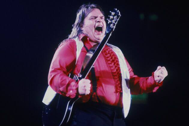 Young Meat Loaf fat
