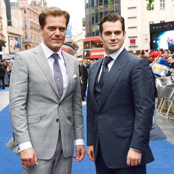 Michael Shannon Height