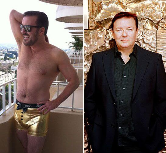 Ricky Gervais, Height, Weight, Body Fat Percentage