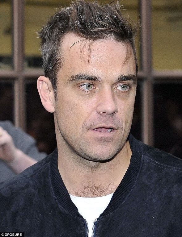 Robbie Williams Height and Weight