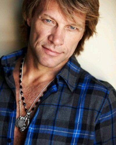 Jon Bon Jovi Height Weight
