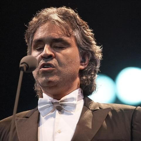 Andrea Bocelli Height Weight
