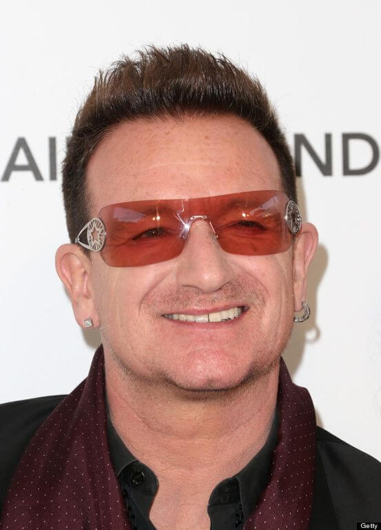 Bono Height and Weight