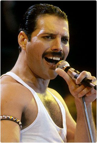 Freddie Mercury – Height Weight Body Fat