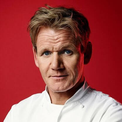 Gordon Ramsay - Height Weight Body Fat