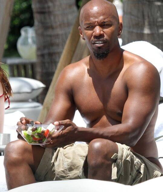 jamie foxx height weight body measurements hollywood