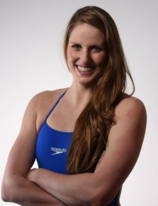 Missy Franklin smiling in a profile picture