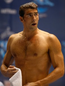 Michael Phelps body: looking great and fit