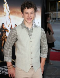 Nolan Gould body picture with a great smile in his face