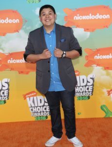 Rico Rodriguez body image in the Kid Choice Awards 2016